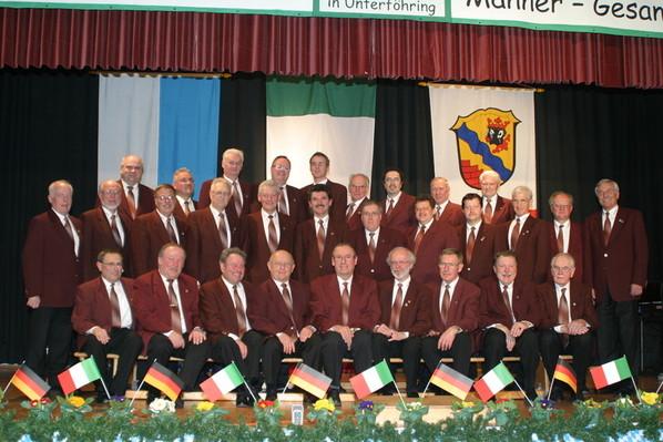MGV beim Sängertreffen in Unterföhring am 28.03.2009