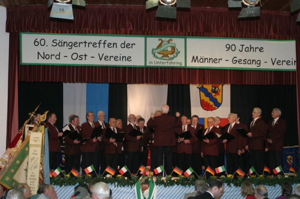 MGV beim Festakt zum 90-jährigen Jubiläum am 29.03.2009