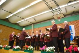 MGV beim Sängertreffen in Feldkirchen am 13.03.2010