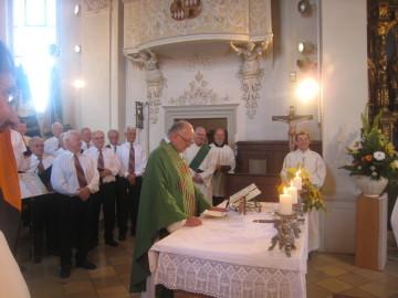 Pfr. Johannes Erzgräber hielt eine interessante und launige Ansprache
