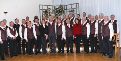 Aufnahme nach dem Adventskonzert mit den Führungskräften des Parkwohnstifts Arnstorf