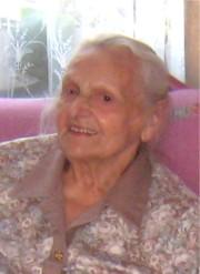 Die Jubilarin Frau Hohenester feierte den 96. Geburtstag