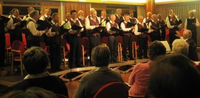 """""""Jagd und Wein"""" war das Motto beim diesjährigen Herbstkonzert im Feringasaal"""