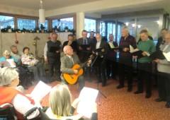 Singen im Seniorenzentrum Unterföhring am 04.12.2011