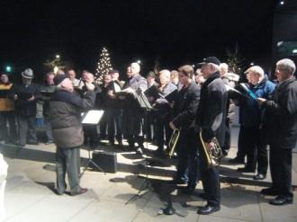 Singen im Christkindlmarkt am 04.12.2011