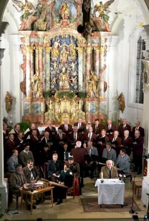 Die prächtige Barockkirche bildet den festlichen Rahmen für Musik und nachdenkliche Texte von Turmschreiber Josef Steidle - Foto: Gerald Förtsch